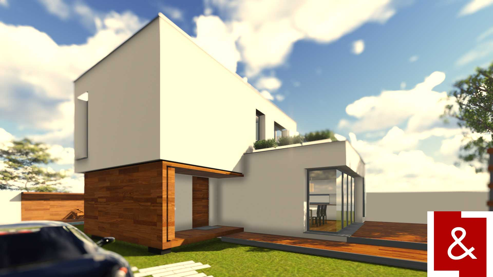 casa moderna contemporana cub