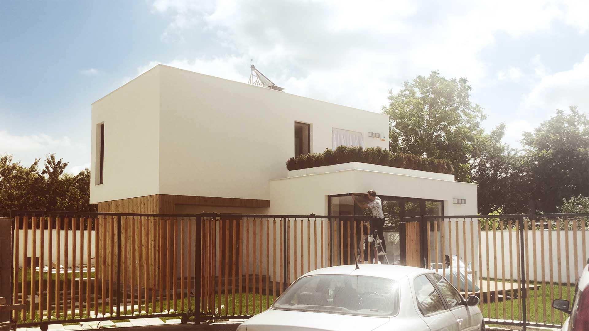 casa moderna cubist