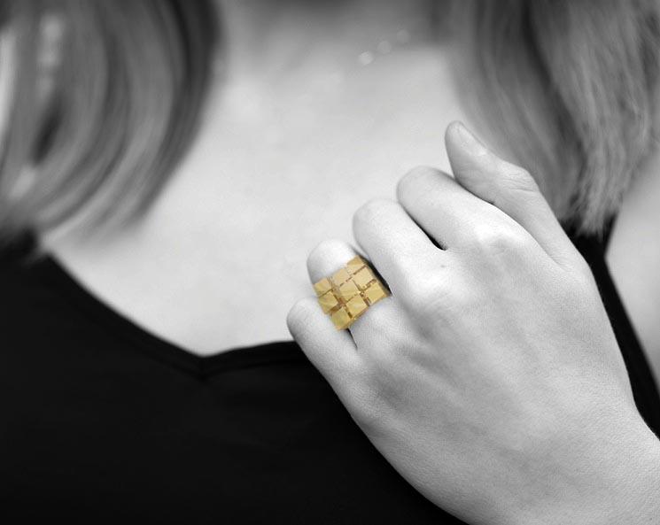 Bijuterie – Inel Cubescape