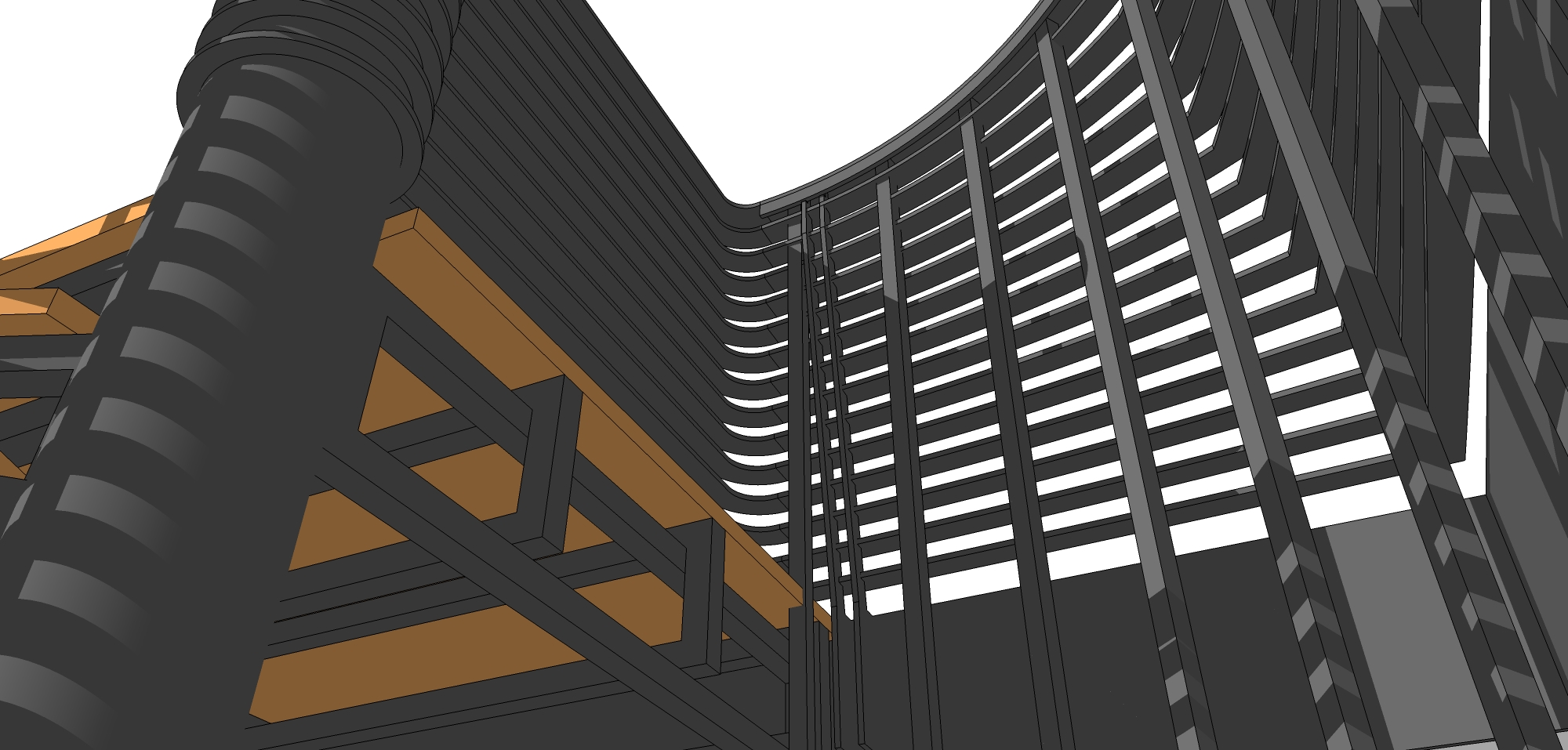 Design de Obiect - Scara Elicoidala