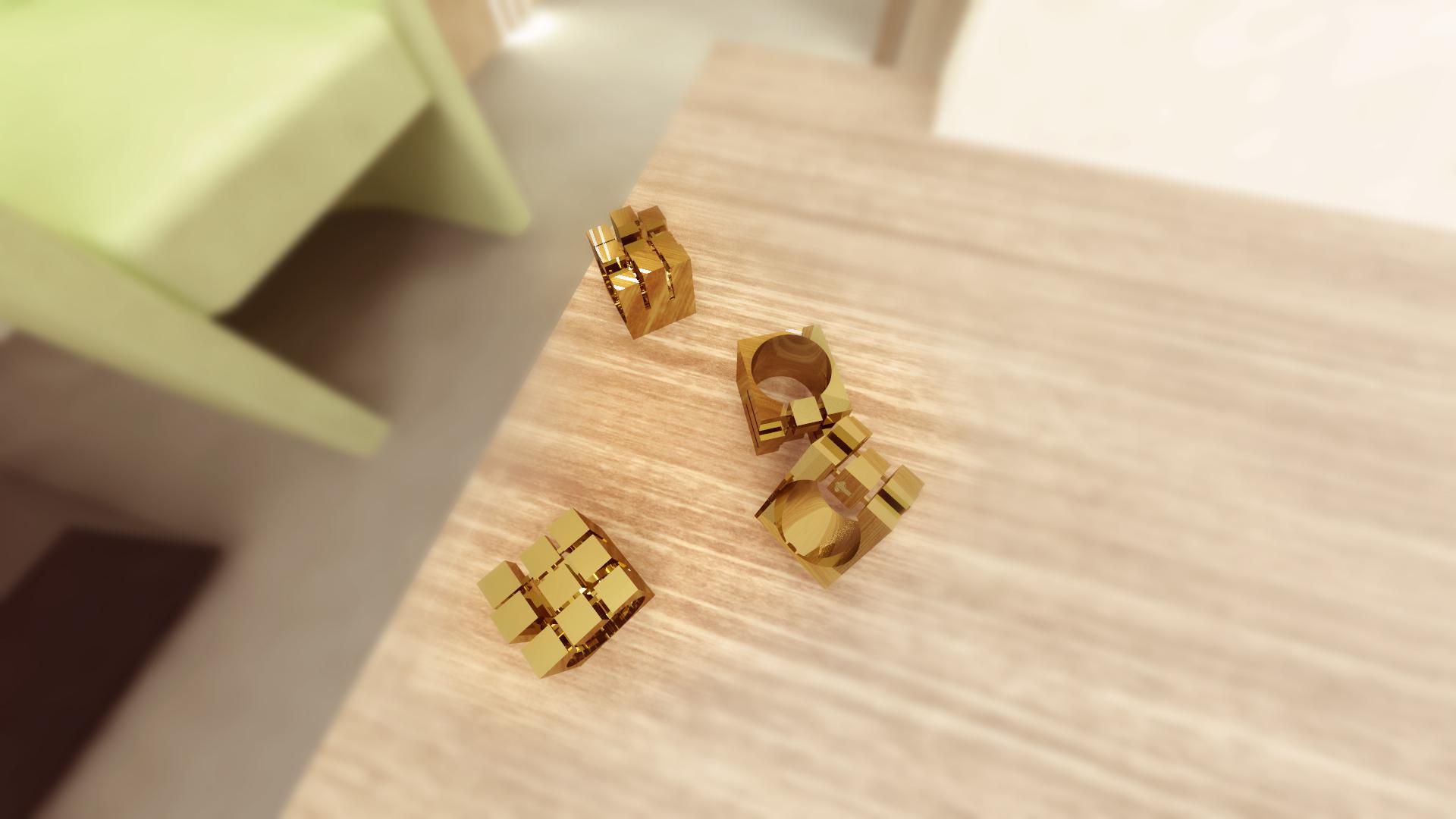 Design de Obicet - Cubescape 2